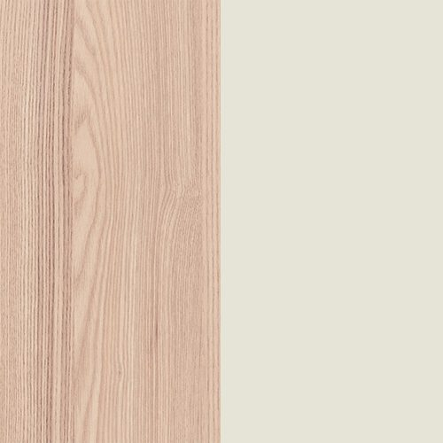 Struttura gamba in legno con moncone in metallo verniciato a polveri
